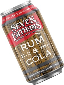 Seven Fathoms Rum and Cola 7.1%